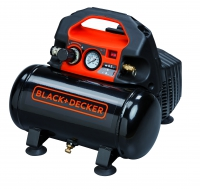 Compressor sem óleo 6L 8bar Black Decker
